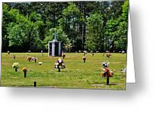 Georgia Memorial Gardens Greeting Card
