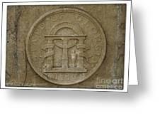 Georgia Seal Greeting Card