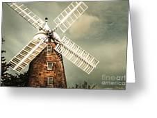 Georgian Stone Windmill  Greeting Card