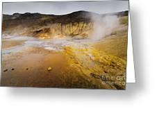 Geothermal Area Greeting Card