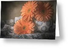 Gerbera Daisy Trio Greeting Card