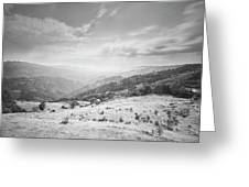 Geres The Not Burned Area.. Yet.. Greeting Card