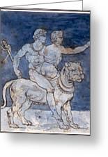 Gericault: Bacchus & Ariadne Greeting Card