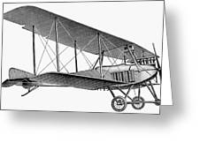 German Airplane, 1913 Greeting Card