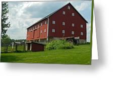 Historic German Bank Barn - Maryland Greeting Card