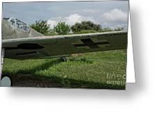 German Fighter Greeting Card