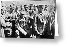 German Prisoners Of War Greeting Card