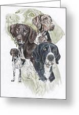 German Shorted-haired Pointer Revamp Greeting Card