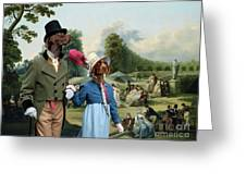 German Shorthaired Pointer - Kurzhaar Art Canvas Print - The Summer Party Greeting Card