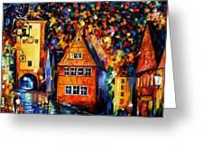 Germany - Medieval Rothenburg Greeting Card