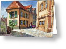 Germany Baden-baden 04 Greeting Card