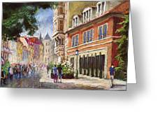 Germany Baden-baden Lange Str Greeting Card