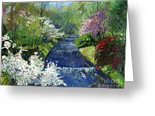 Germany Baden-baden Spring Greeting Card