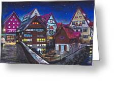 Germany Ulm Fischer Viertel Greeting Card