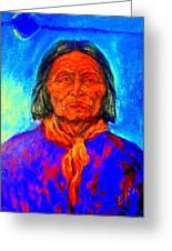 Geromino - Chiricahua Apache Leader Greeting Card