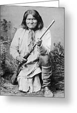 Geronimo Apache Indian Native American Greeting Card