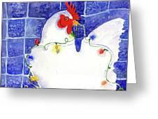 Gertrude Decorating Greeting Card