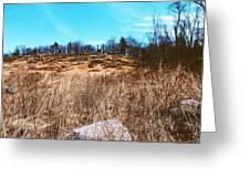 Gerttysburg Series Little Round Top Greeting Card