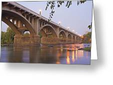 Gervais Bridge Greeting Card