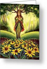 Get Grounded - Black Eyed Susan Greeting Card