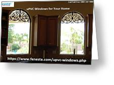 Get Your Home Beautiful By Upvc Windows Greeting Card