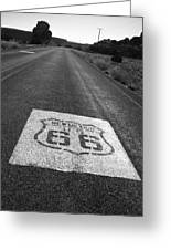Get Your Kicks In New Mexico Greeting Card