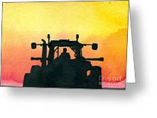 Getting It Done Greeting Card by R Kyllo