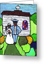 Getting Married Today Greeting Card