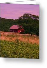 Gettysburg Barn Greeting Card