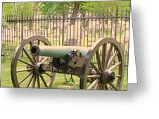 Gettysburg Cannon Cemetery Hill Greeting Card