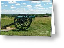 Gettysburg Cannon Greeting Card by Kevin Croitz
