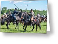Gettysburg Cavalry Battle 7978c  Greeting Card
