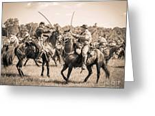 Gettysburg Cavalry Battle 7978s  Greeting Card