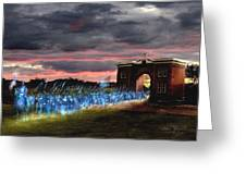 Gettysburg Evergreen Greeting Card