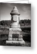 Gettysburg National Park 30th Pennsylvania Infantry Monument Greeting Card