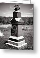 Gettysburg National Park 6th Wisconsin Iron Brigade Monument Greeting Card