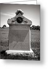 Gettysburg National Park 8th Illinois Cavalry Monument Greeting Card