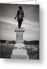 Gettysburg National Park John Gibbon Monument Greeting Card
