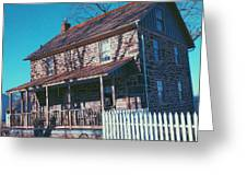 Gettysburg Series Weikert House Greeting Card
