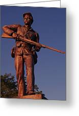 Gettysburg Statue Greeting Card