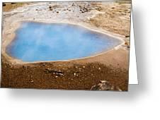 Geysir Area Greeting Card