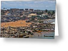 Ghana Africa Greeting Card