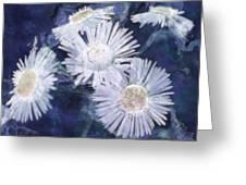 Ghost Flowers Greeting Card