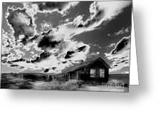 Ghost House Greeting Card