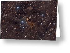 Ghost Nebula Greeting Card