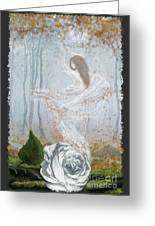 Ghost Of A Rose Greeting Card