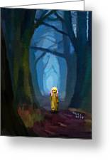 Ghost On The Road 419 Greeting Card