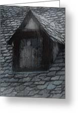 Ghost Rain Greeting Card by RC deWinter