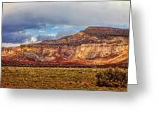 Ghost Ranch Red Greeting Card