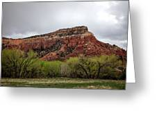 Ghost Ranch View Greeting Card